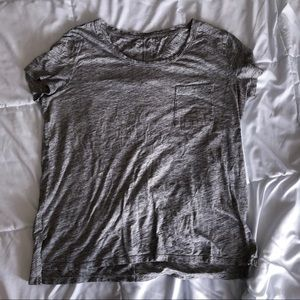 Heather gray tee shirt from Old Navy